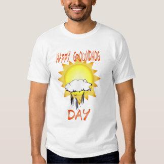 Camiseta feliz del día de la marmota remeras