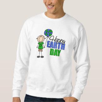 Camiseta feliz del Día de la Tierra Sudadera Con Capucha
