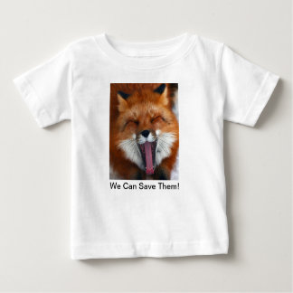 Camiseta feliz del Fox los 6m