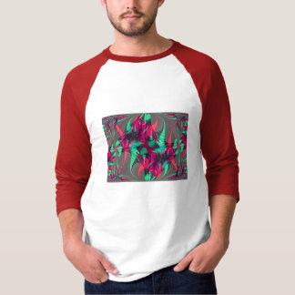 Camiseta feliz del fractal