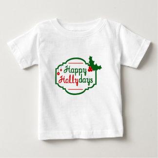 Camiseta feliz del niño de Hollydays