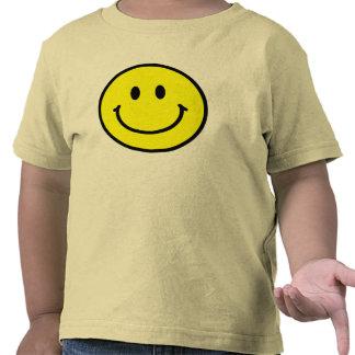 Camiseta feliz del niño de la cara