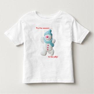 Camiseta feliz del niño del navidad de la novedad playeras