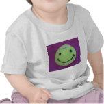 Camiseta feliz del niño del tenis