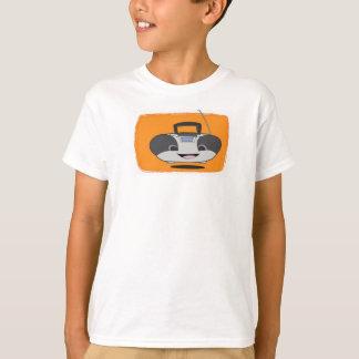 Camiseta feliz linda de Boombox