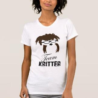 Camiseta femenina de Kritter del equipo