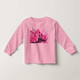 Camiseta femenina del pequeño diablo lindo camisas