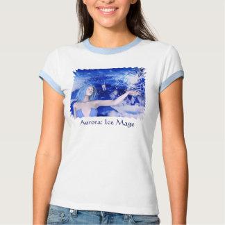 Camiseta femenina humana de Mage de la bruja del Polera
