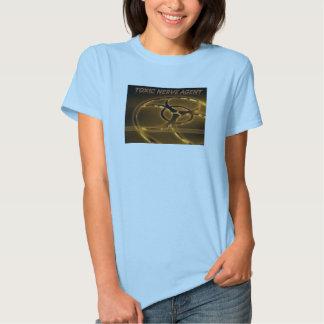 Camiseta femenina tóxica playera