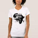 Camiseta femenina urbana africana