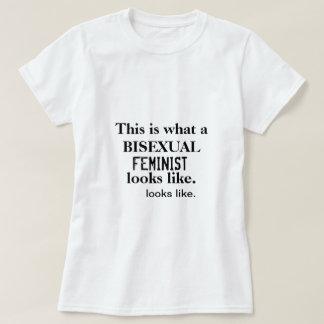 Camiseta feminista bisexual playeras
