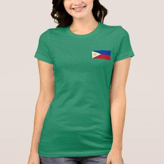 Camiseta filipina de la bandera