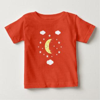 Camiseta fina del jersey del bebé