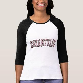 camiseta floral creatylic
