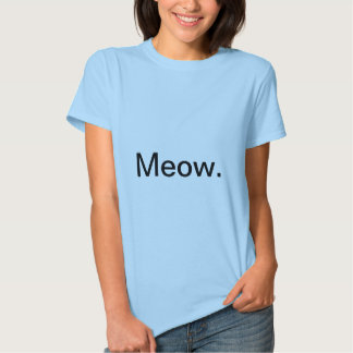 Camiseta floral del gatito polera