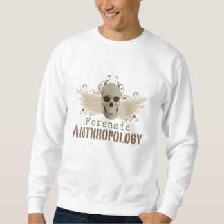 Camiseta forense del cráneo de la antropología sudaderas