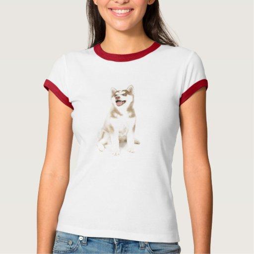 Camiseta fornida de las señoras playera
