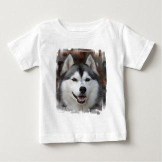 Camiseta fornida del bebé del perro remeras