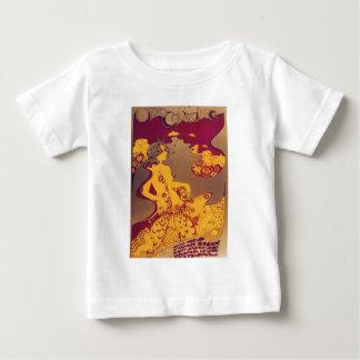 Camiseta francesa del poster del vintage de