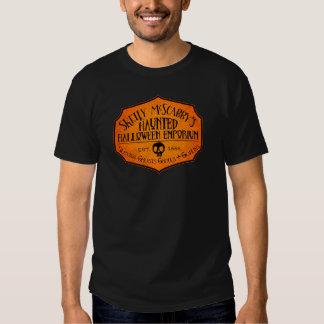 Camiseta frecuentada del emporio de Halloween de Remeras