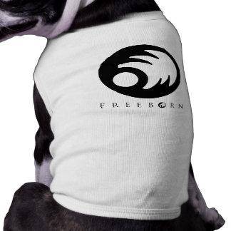 Camiseta Freeborn del perrito Playera Sin Mangas Para Perro