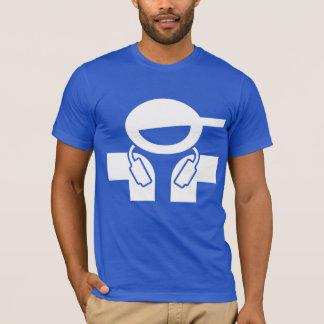 Camiseta fresca de DJ - disc jockey con el