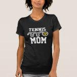Camiseta fresca de la mamá del tenis para las muje