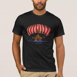 Camiseta fresca de la nave de Viking