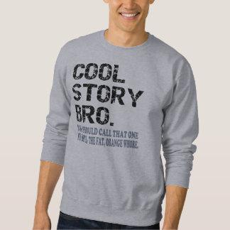 Camiseta fresca de la parodia de Bro de la Sudadera Con Capucha