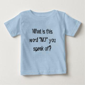 camiseta fresca del bebé infantil cuál es esta poleras