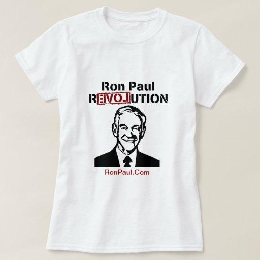 Camiseta fresca del diseño de la revolución de Ron Polera