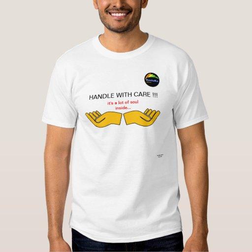 camiseta fresca para las personas sensibles playera
