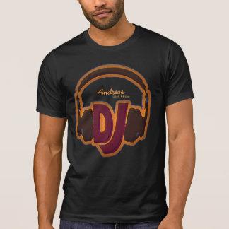 camiseta fresca personalizada de DJ