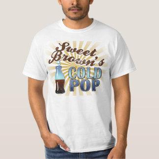 Camiseta fría del estilo del vintage del estallido poleras