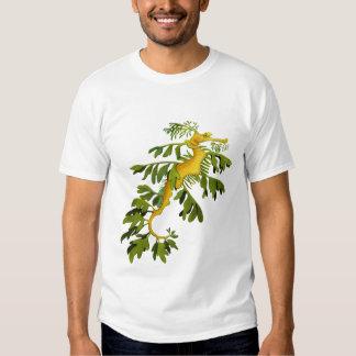 Camiseta frondosa del Seahorse del dragón del mar Playera