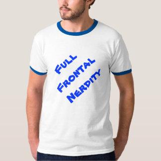 ¡Camiseta frontal llena de Nerdity! Remera