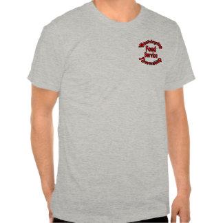 Camiseta FST1 (gris de la alimentación del brezo)