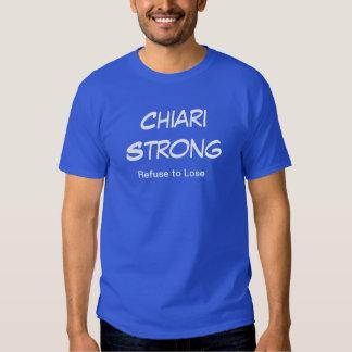 """Camiseta fuerte de """"Chiari"""" (colores múltiples)"""