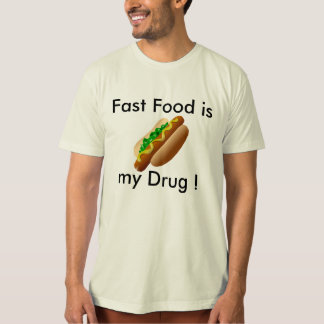 camiseta #Funny del #FastFood Camisas