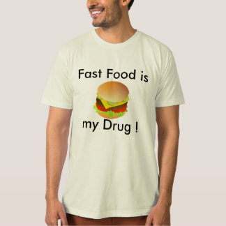 camiseta #Funny del #FastFood Remera