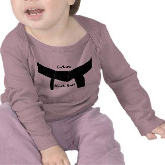 Camiseta futura de la correa negra de los artes ma