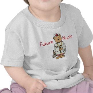 Camiseta futura de la enfermera