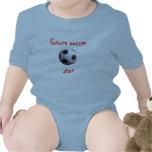 Camiseta futura de la estrella de fútbol
