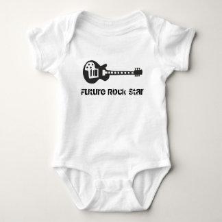 Camiseta futura de la estrella del rock playeras