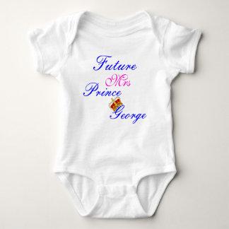 camiseta futura de la señora príncipe George baby Remera