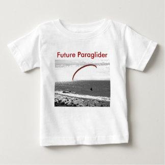 Camiseta futura del ala flexible playera para bebé