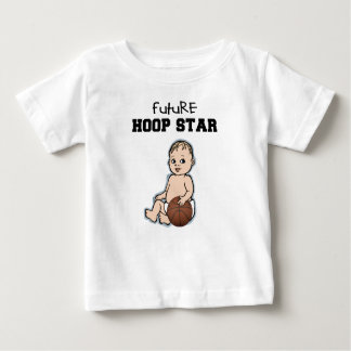 Camiseta futura del baloncesto del bebé de la camisas
