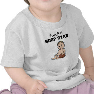 Camiseta futura del baloncesto del bebé de la estr