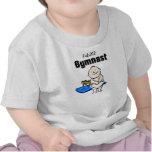 Camiseta futura del bebé de la estrella de la gimn