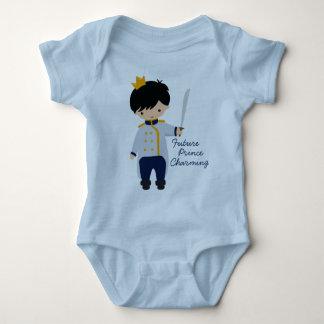 Camiseta futura del bebé de príncipe el encantar